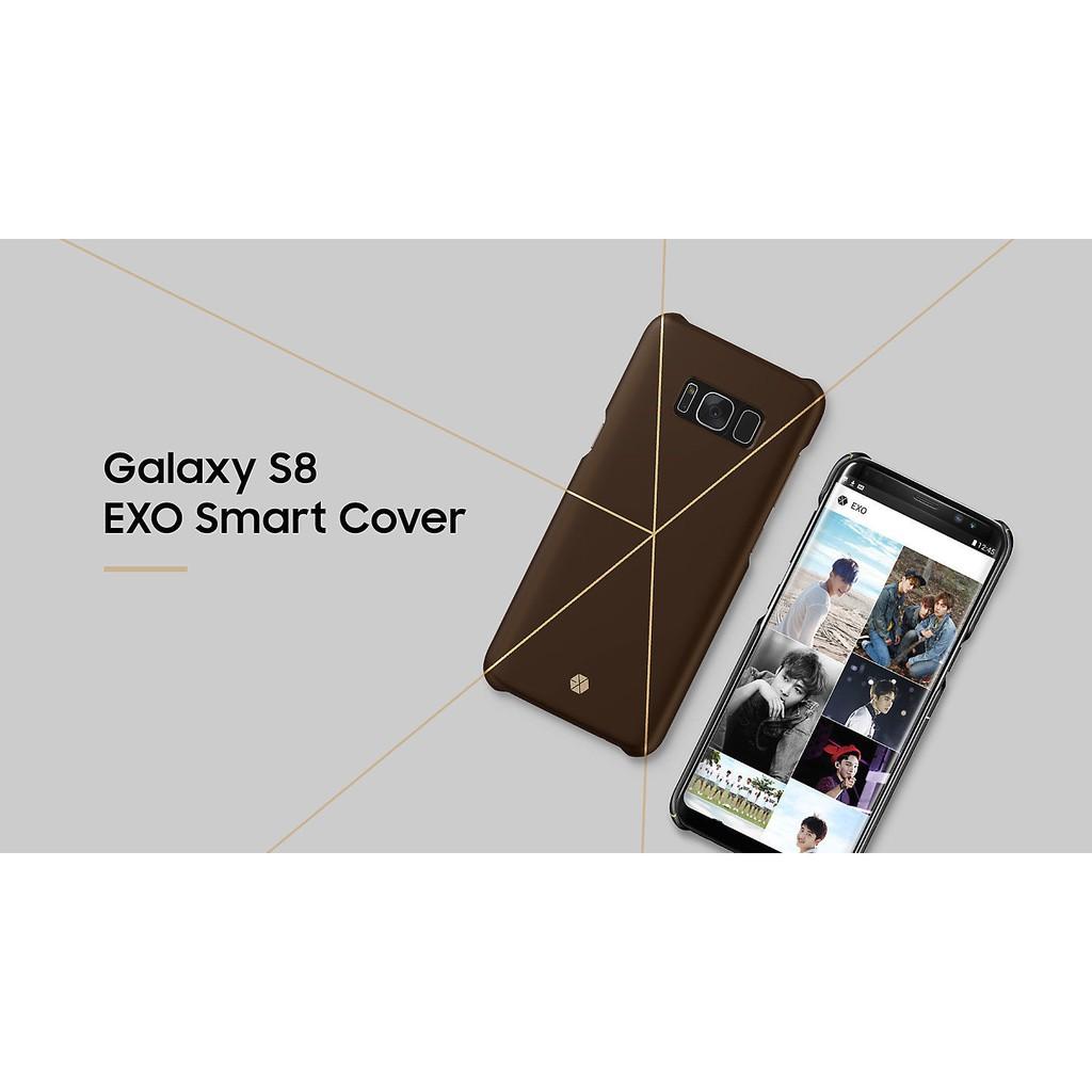 new arrival 3f677 d59bc Galaxy S8 EXO Smart Cover สีน้ำตาลแดงและสีขาว | Shopee Thailand