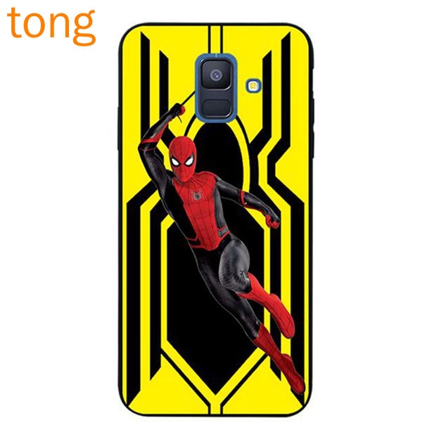 Samsung J2 Note 3 4 5 8 9 A5 A6 A8 A9 Star Pro Plus 2018 Sling Spiderman Soft TPU Case