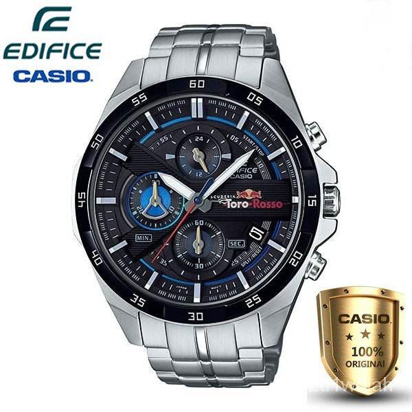 Casio Edifice รุ่น EFR-556TR-1A สินค้าขายดี นาฬิกาข้อมือผู้ชาย สายสแตนเลส Red Bull Scuderia Toro Rosso Limit