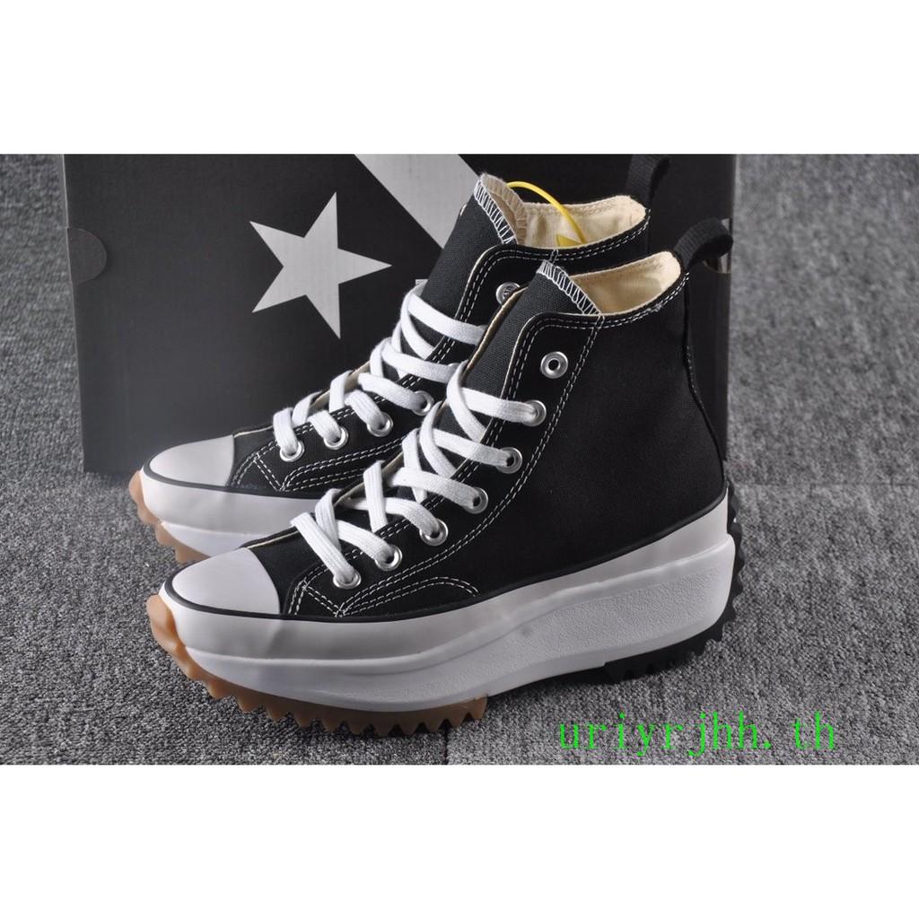 ของแท้J.W. Anderson x Converse chuck Run Star Hike1970s รองเท้าผู้หญิง รองเท้าส้นสูง
