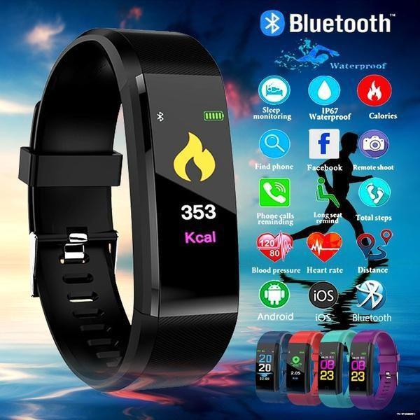 ยางยืดออกกําลังกาย✁❀☇ 🌹นาฬิกาสมาร์ท M4 [COD] SmartWatch นาฬิกาอัจฉริยะ สมาร์ทวอทช นาฬิกาออกกำลังกาย แจ้งเตือนไลน์ ใช้