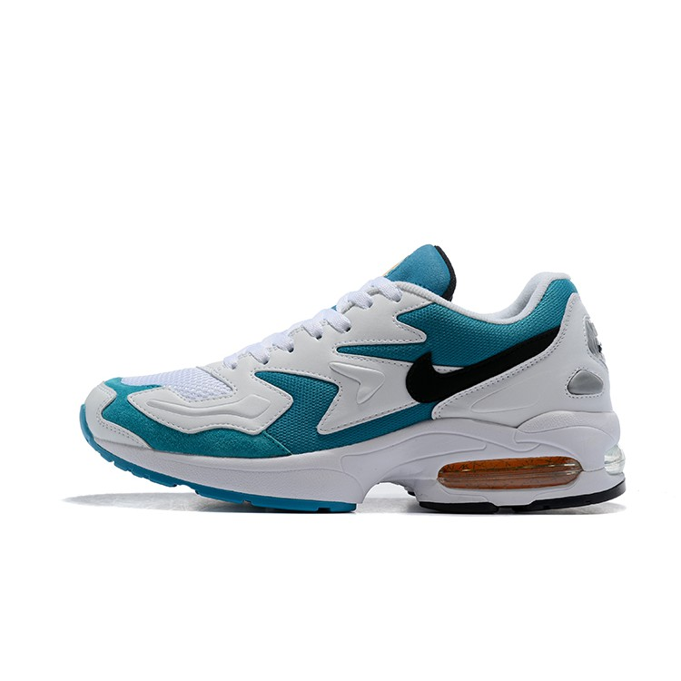 Nike Men's Air Max 2 Light Running Shoes Casual Sports Sneakers White Green