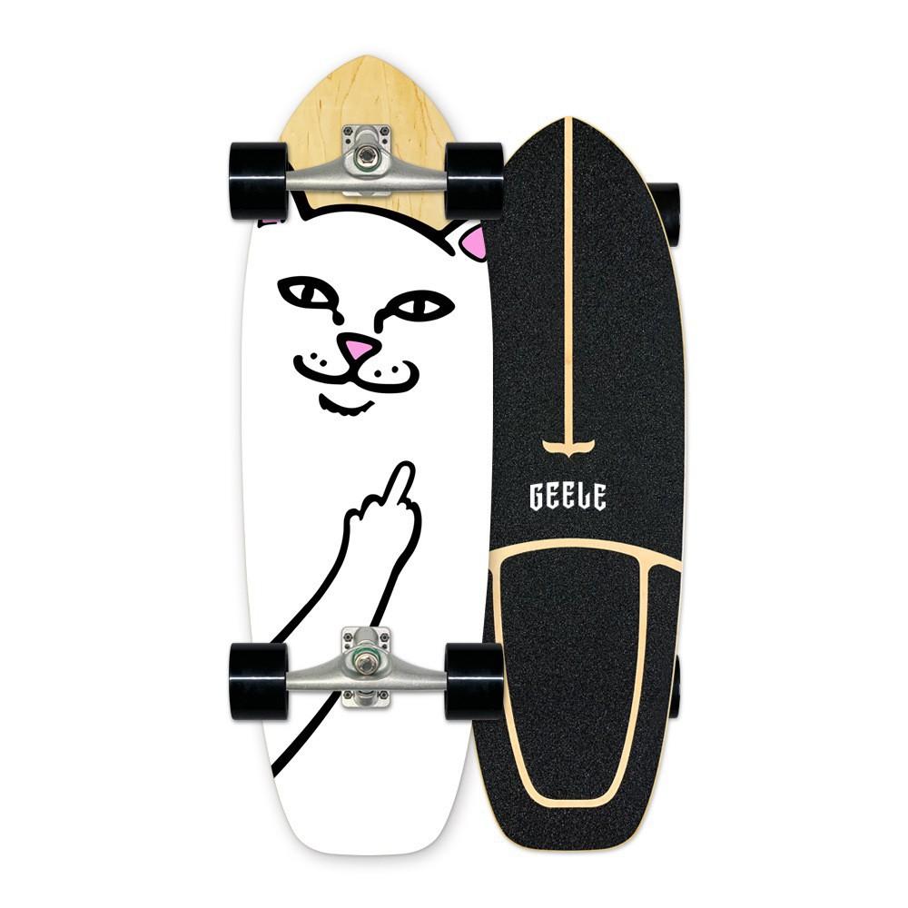 ✟☄✌Geeleสเก็ตบอร์ด Surfskate board carver เซิร์ฟสเก็ตสำหรับผู้เริ่มต้น ราคาเบาๆ ส่งเร็ว