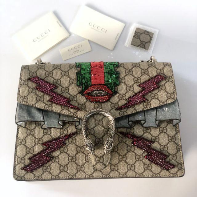 แท้】Used in good condition Gucci Dionysus medium size. Come with card Price : 85,999฿