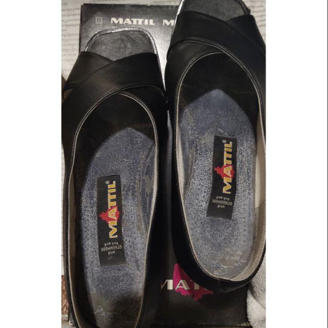 รองเท้าหนังสีดำ รองเท้าคัชชูทำงาน
