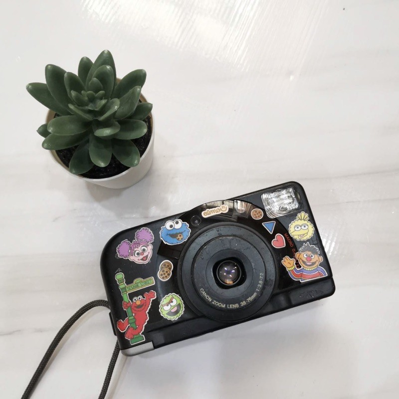 กล้องฟิล์ม Canon Autoboy A Panorama (แต่งสติ๊กเกอร์)
