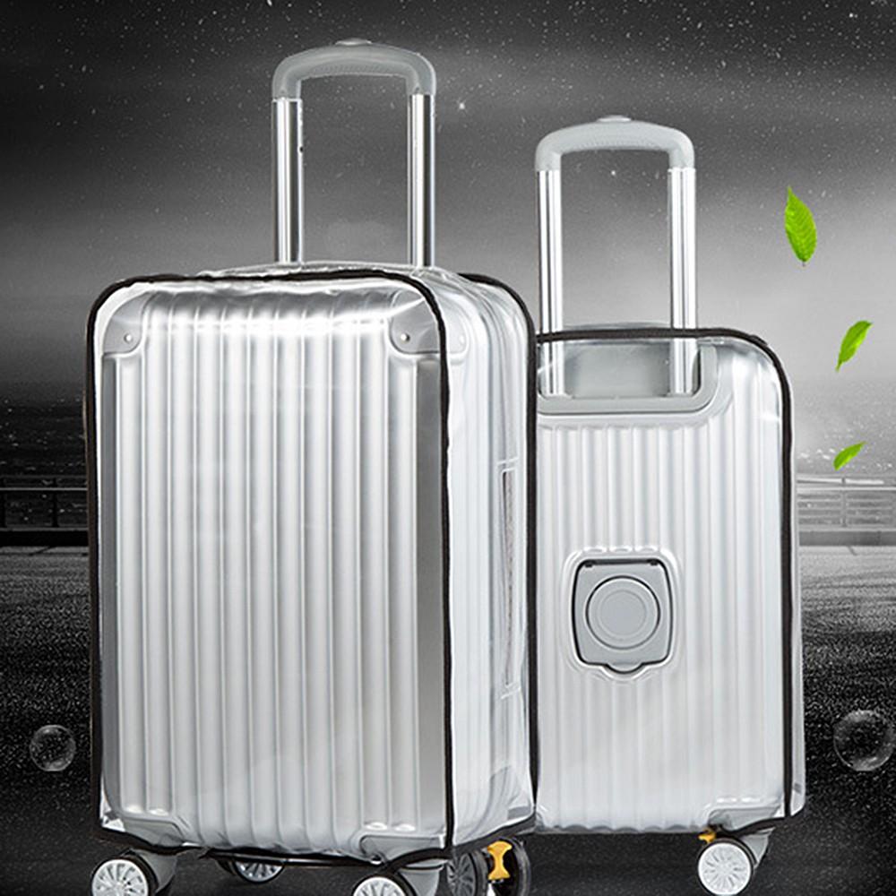 """CASSA ซองคลุมกระเป๋าเดินทาง PVC แบบใส กันน้ำ กันความร้อน กันรอยขีดข่วน ขนาด 24"""""""