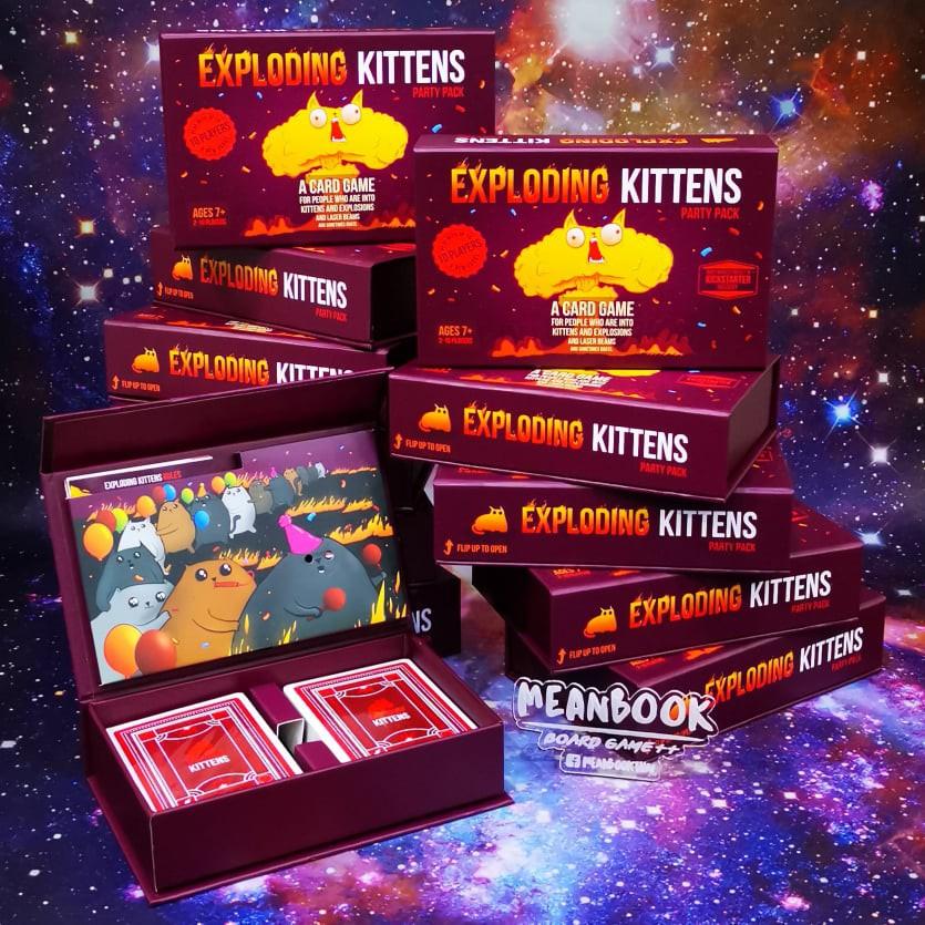 Exploding Kittens Party Pack Board Game แมวระเบิด