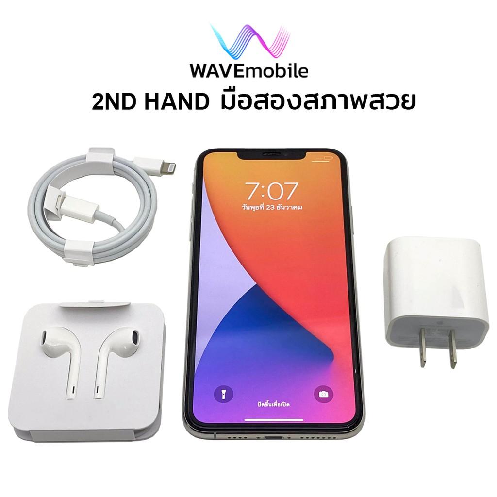 มือสอง(2nd Hand)  iPhone 11 PRO Max 256GB (Model ZA 2Nano SIM) เครื่องแท้ สีเงิน IMEI 2566