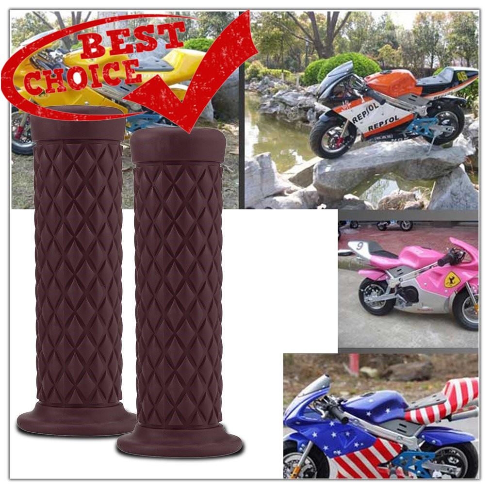 แฮนด์มือจับ 22 มม  สำหรับรถจักรยานยนต์ Motorcycle Hand Grips Antiskid Sport  Rubber