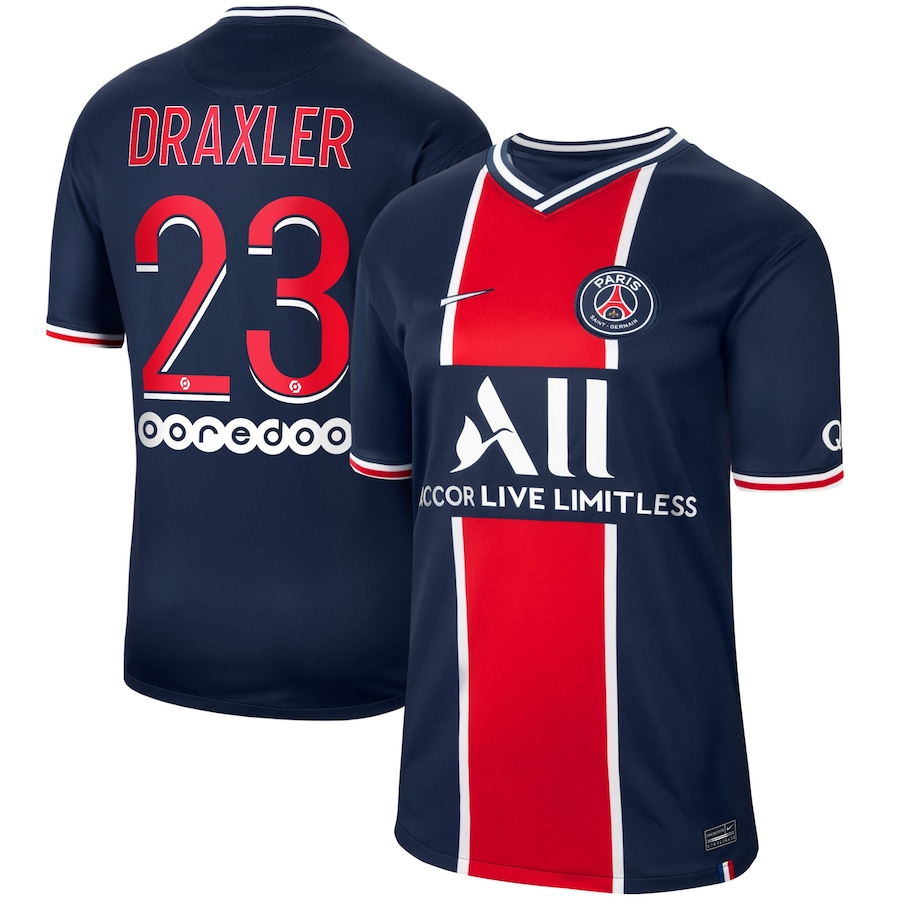 DRAXLER 23 Flock Original Paris Saint Germain Trikot 20cm