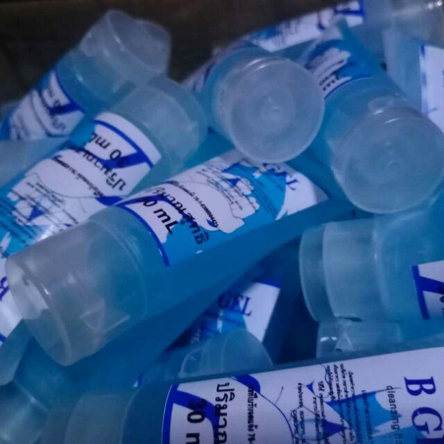 เจล alcohol ขนาด 30 ml หลอดละ 14บาท เจลอนามัยเจลล้างมือ