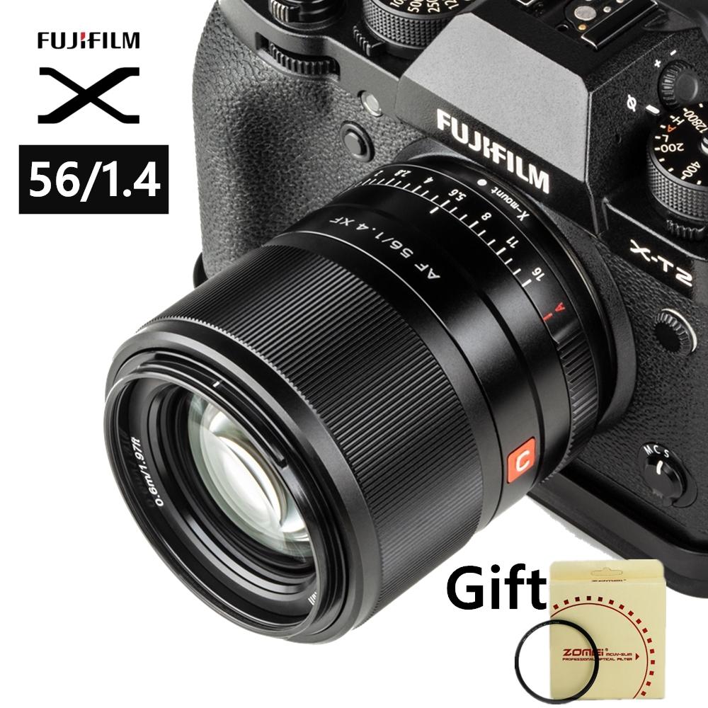 Viltrox 56mm f1.4 STM เลนส์ออโต้โฟกัสสำหรับกล้อง Fuji X-mount Mirrorless X-Pro3 X-T2 X-T3 X-T4 X-T20 XT-30