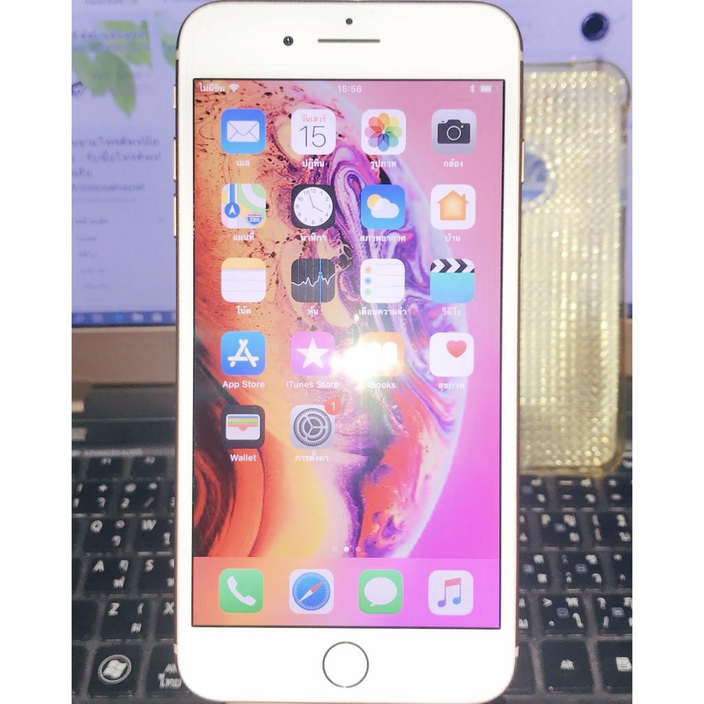Apple iphone8 Plus 64G สีชมพูทอง ModelTH สวยไร้รอยมีประกัน