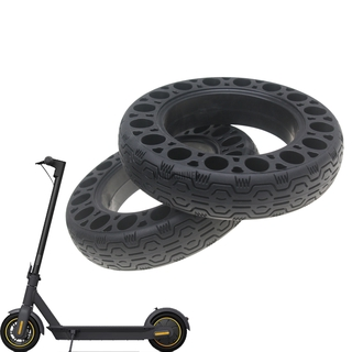 Ninebot MAX G30 10-inch Scooter 60 / 70-6.5 Non-Inflatable Explosion-Proof Solid Honeycomb Tires Impact Resistant Tire