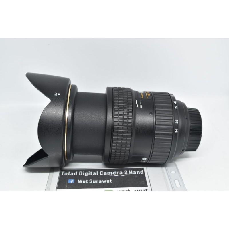เลนส์ Tokina 24-70 F2.8 For Nikon