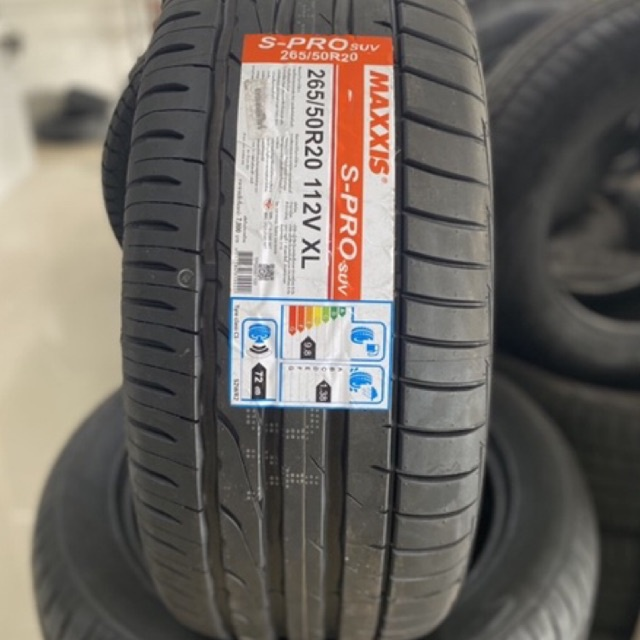 <ส่งฟรี>ยางรถยนต์ขอบ20 MAXXIS 265/50R20 S-PRO ปี21