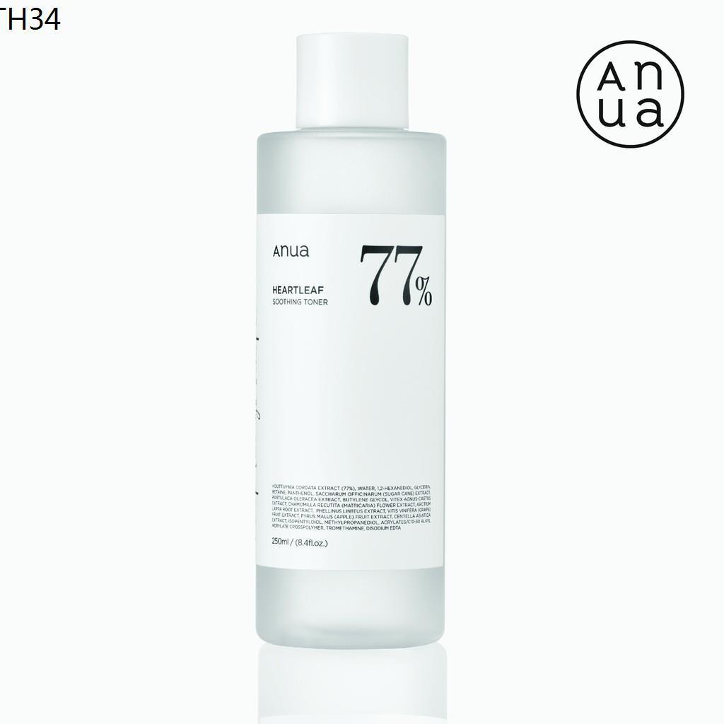 ANUA : HEARTLEAF 77% SOOTHING TONER 250 ml