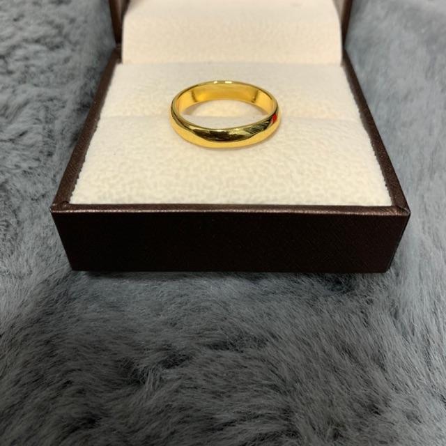 แหวนทองลายเกลี้ยง ทองหุ้ม เกรดA ราคาโรงงานมาเอง