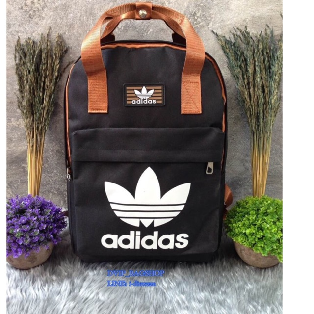 Adidas Canvas Backpack แท้💯%