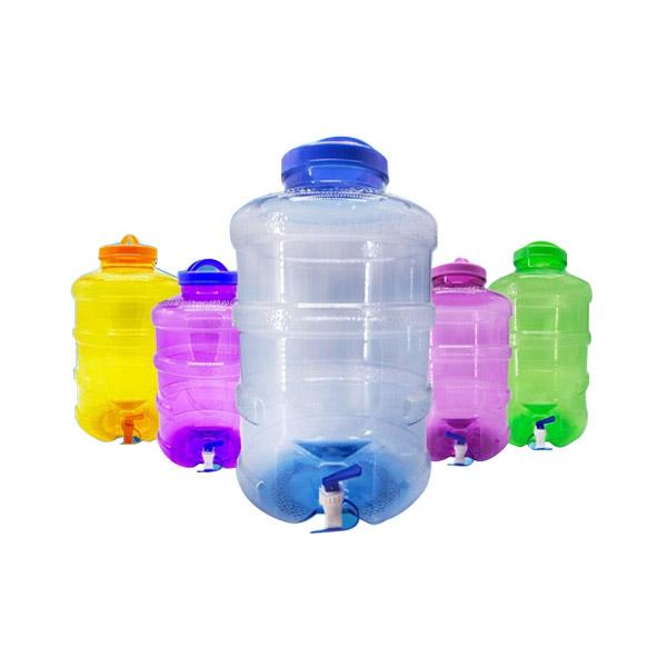 Yongling รุ่นธรรมดา ขนาด 18.9 ลิตร ถังน้ำดื่ม PET ขนาด ถังน้ำมีก๊อกพร้อมหูหิ้วรุ่น ลาย 1x
