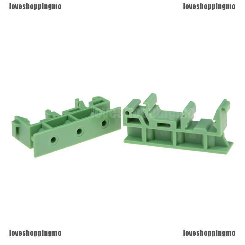 NEW PCB Circuit Board Mounting Bracket 1 pair For DIN 35mm //C45 Rails