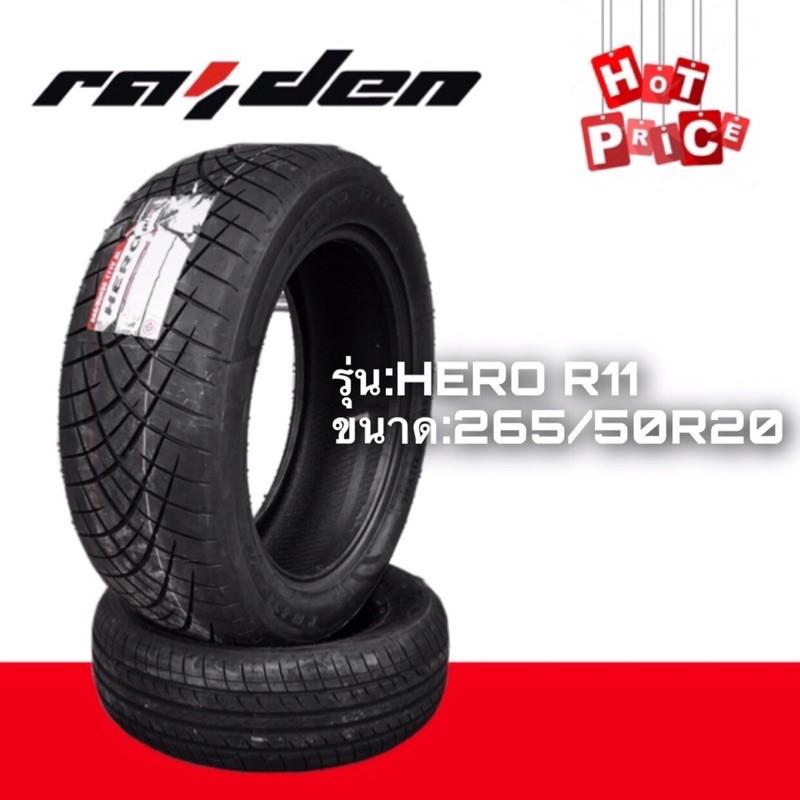 ยางรถยนต์Raiden รุ่นHero r11 ขนาด265/50R20