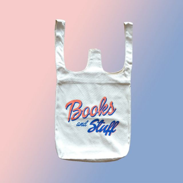 Canvas bag BOOKS AND STUFF