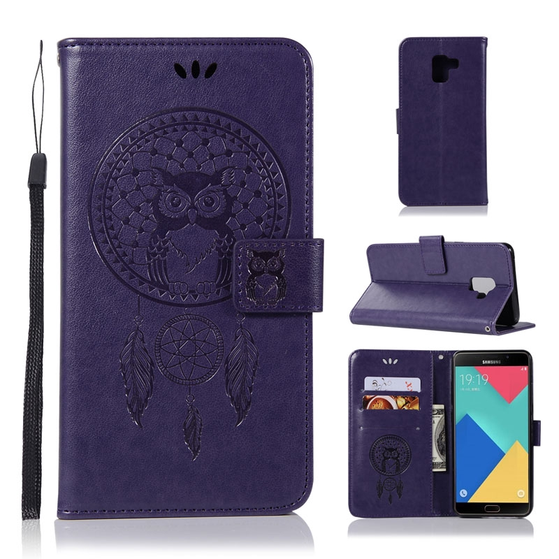 Flip Case Samsung Galaxy A9 Star Pro Lite A9S A8 Plus A7 A6 2018 A5 A3 2017 2016 A750 A510 Leather Wallet Hangable Phone Cover