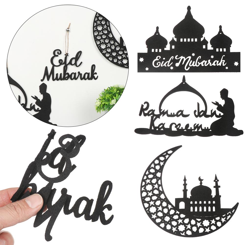 """Suchen Hollow Ramadan Decor Home Party Supplies Diy Crafts Eid Mubarak Pendant Hanging Tags Felt Handmade Islamic Muslim Ornament À¸ª À¸§à¸™à¸¥à¸""""อ À¸à¸• À¸à¹""""ป 13"""