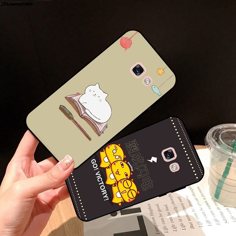 Samsung A3 A5 A6 A7 A8 A9 Pro Star Plus 2015 2016 2017 2018 XTH Pattern-1 Silicon Case Cover