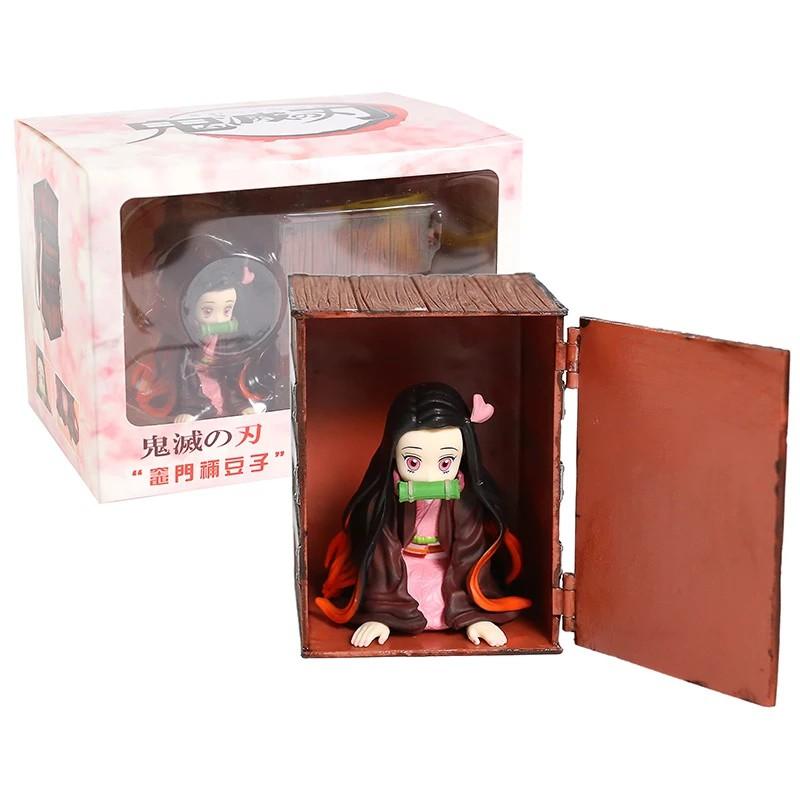 Demon Slayer Kimetsu No Yaiba Kamado Nezuko In Box PVC Figure Collectible Model Toy