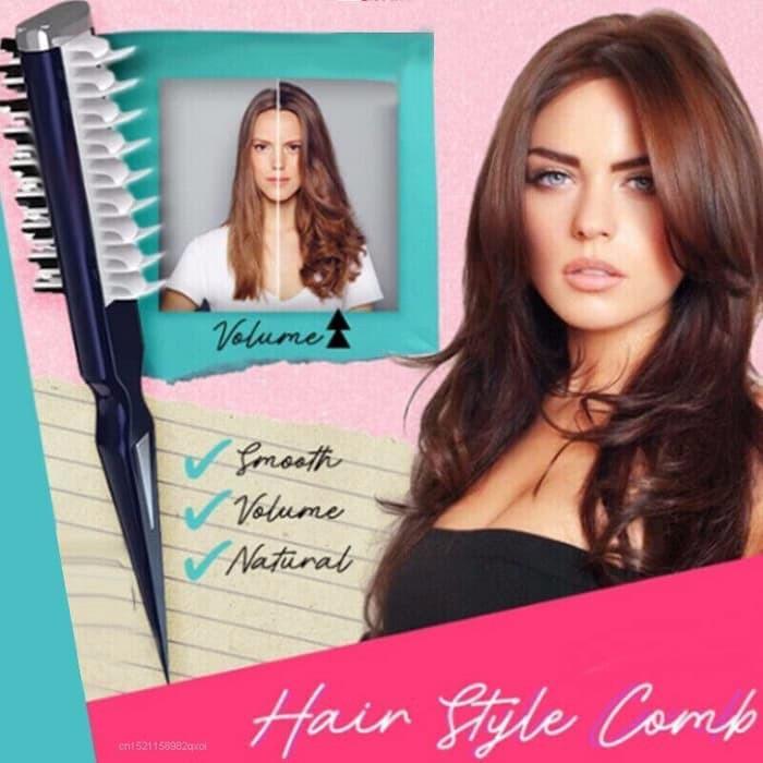 2 Afro Hair Combs Black Wide Teeth Pick Curly Brush Twist Volume Unisex Styler