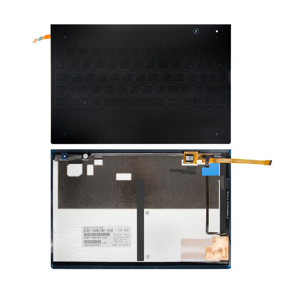"""แป้นพิมพ์สําหรับ 10 . 1 """" Lenovo Yoga Book Yb 1 - X 90 L Yb 1 - X 90 F Yb 1 - X 91 L Yb 1 - X 91 F"""