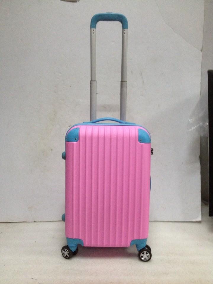 กระเป๋าทรงแหลมabsเคลือบกรณีรถเข็นล้อสากลกระเป๋าเดินทาง20-นิ้ว24-นิ้ว28-กระเป๋าเดินทางโครงบอร์ดขนาดนิ้ว
