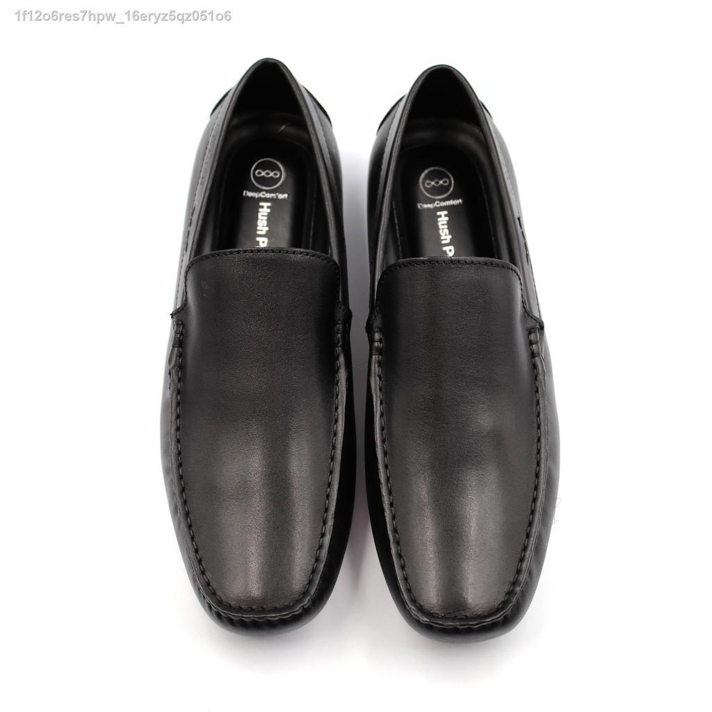 เตรียมส่งของ!∋HUSH PUPPIES รองเท้าคัชชูผู้ชายรุ่น HP THCFB46B8A สีดำ