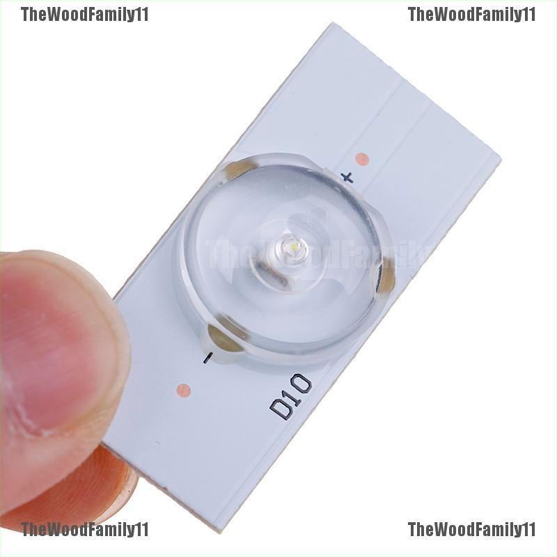 TWF  20Pcs 3V 6V SMD Lamp Beads with Optical Lens Fliter for 32-65 inch LED TV Repair