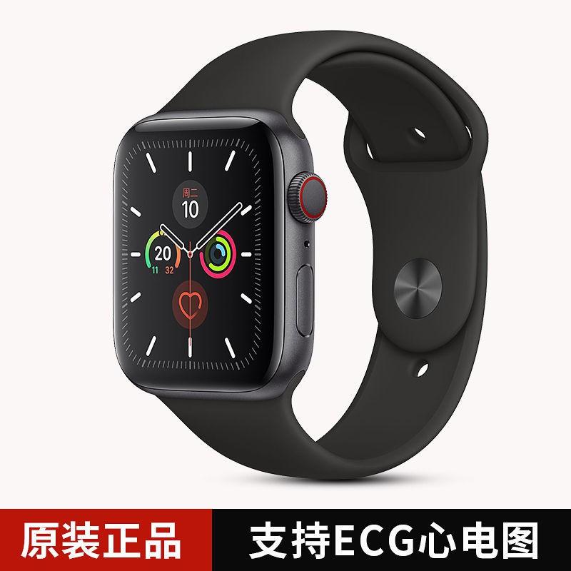 แอปเปิ้ลแอปเปิ้ลดูนาฬิกา5รุ่น Apple Watch Series 5สมาร์ทนาฬิกาโทรศัพท์GPSเครือข่ายโทรศัพท์เคลื่อนที่รุ่นเรา k9a4