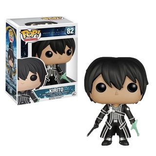 Funko POP Sword Art Online Kirito Figure Models Action Toys For Boys Fans Collections