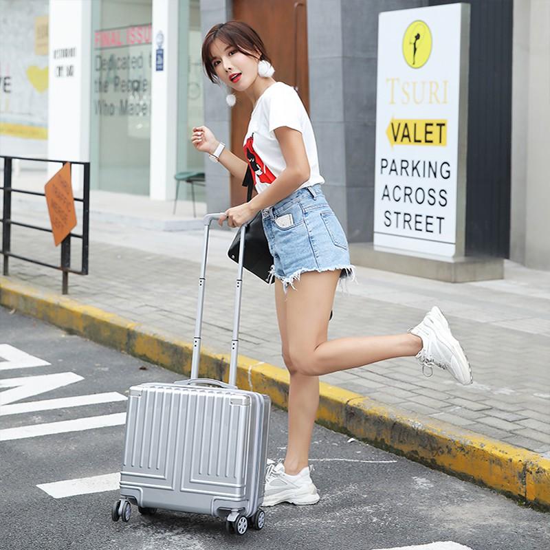 กระเป๋าเดินทางใบเล็ก 14 นิ้วกระเป๋าเดินทางใบเล็กกระเป๋าเดินทางใบเล็กมือสอง✶┋กระเป๋าเดินทางยี่ห้อทูตหญิง 16นิ้ว ขนาดเล็ก