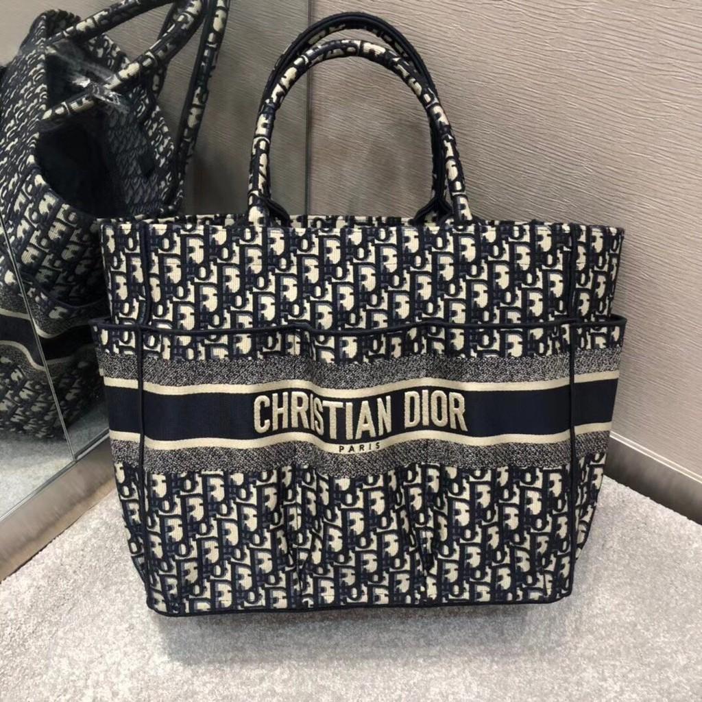 DIOR Dior 20 new female bag   BookTote catwalk gardener bag handbag shopping