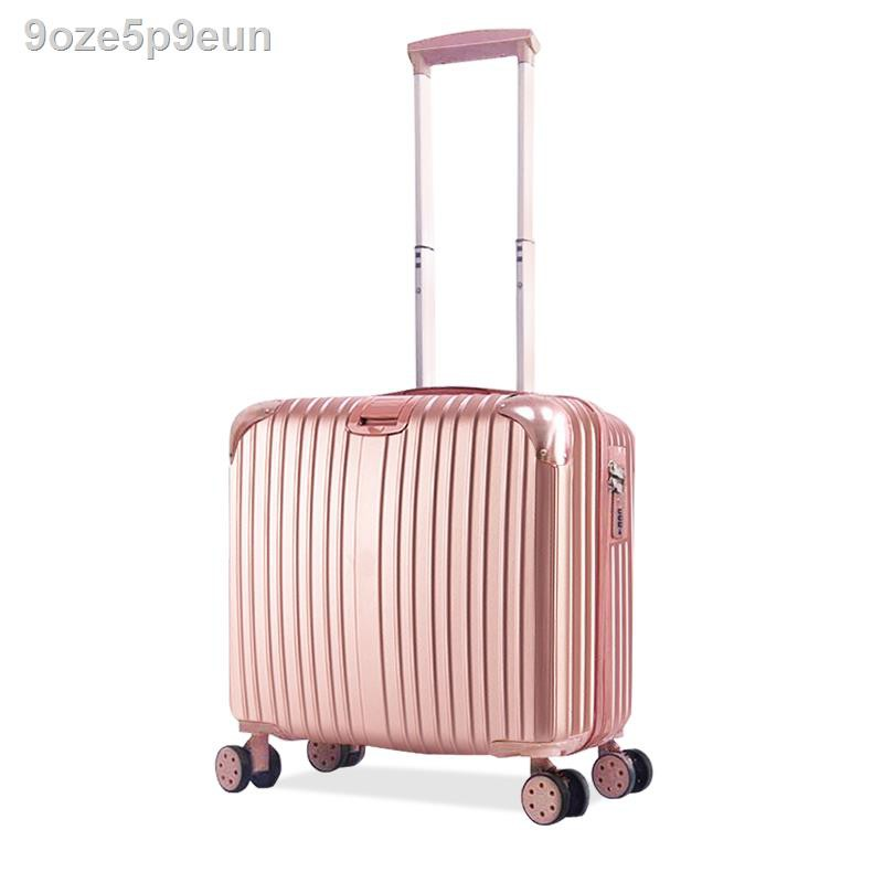 กระโปรงหลังรถ☏►✑กระเป๋าเดินทางใบเล็ก เบา เล็ก กระเป๋าเดินทางล้อลาก ผู้หญิง 20 ใบ กระเป๋าเดินทางใบเล็ก ชายเล็ก 18 นิ้ว เล