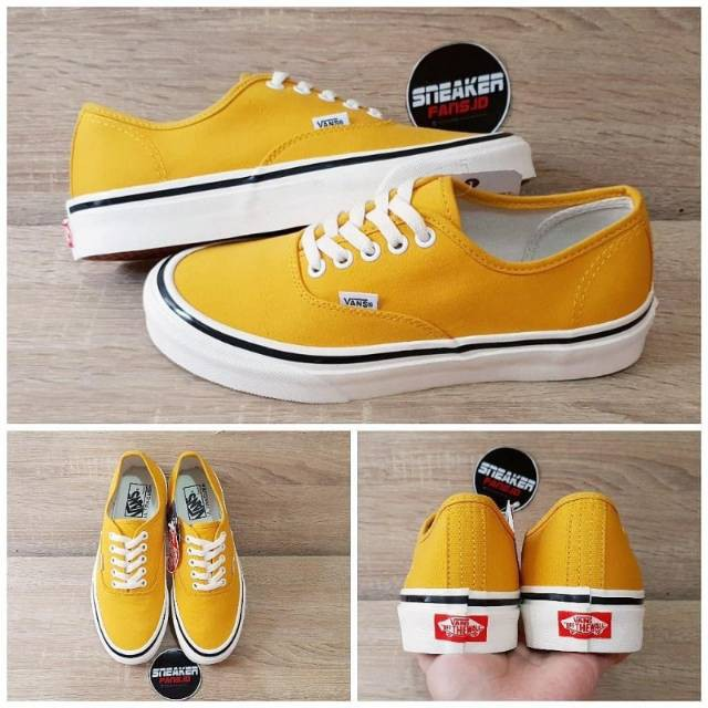 ☺VANS ANAHEIM FACTORY STYLE 44 SUNFLOWER PREMIUM IMPORT