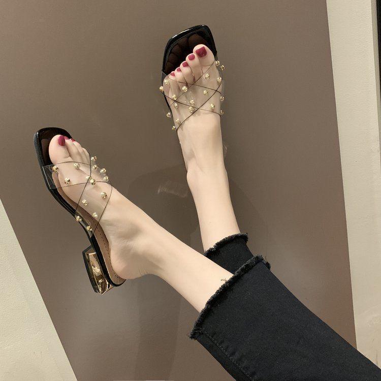 รองเท้าส้นสูง💖รองเท้าส้นแก้ว💖รองเท้าผู้หญิง💖รองเท้าคัชชู💖! รองเท้าส้นสูง - รองเท้าส้นสูงรองเท้าส้นสูงแฟชั่น