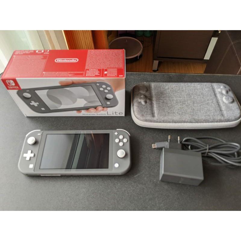 Nintendo Switch Lite สี Grey มือสอง สภาพใหม่มากๆ