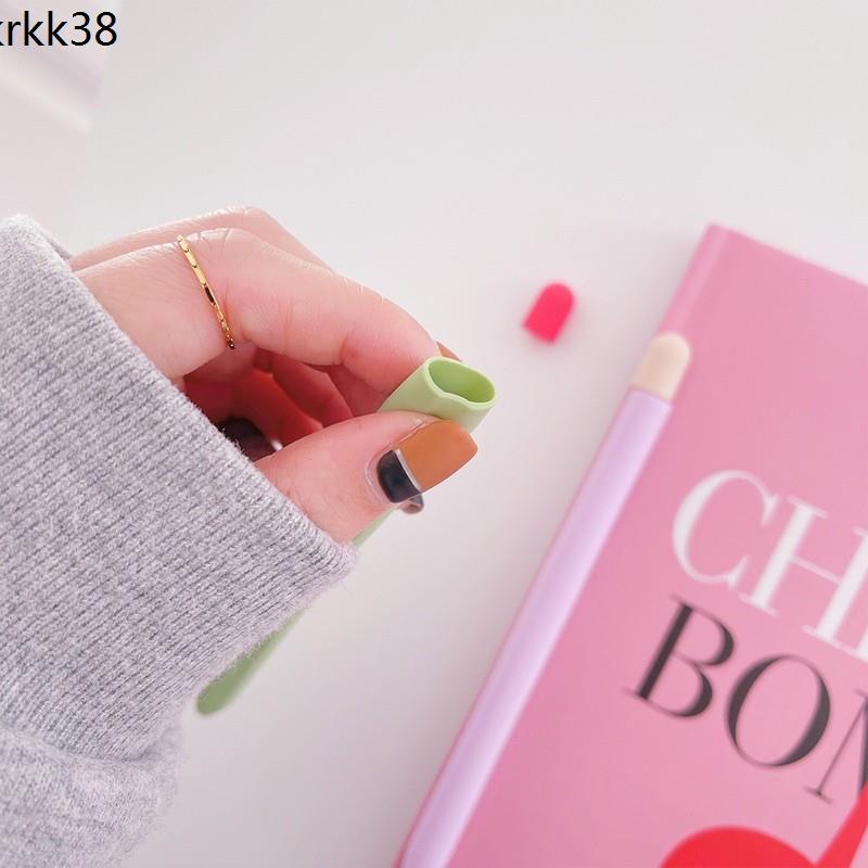 🔥พร้อมส่ง เคสปากกา เคส apple pencil Gen1 gen2 ปลอกปากกา เคสซิลิโคน case applepencil เคสปากกาเจน1 เคสปากกาเจน2