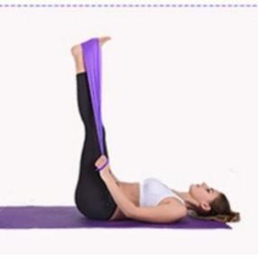 ยางยืดออกกำลังกาย ยางยืดพิลาทิส ยางยืดโยคะ Elastic Yoga Bandผ้ายืดออกกำลังกาย ยางยืดแรงต้าน  ยางยืดออกกำลังกายแรงต้านสูง