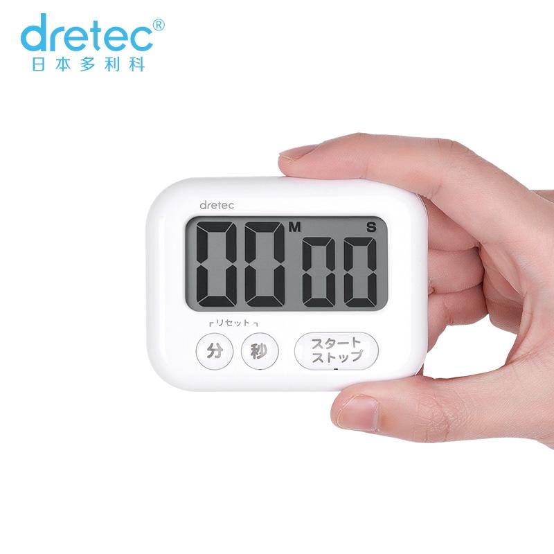 นาฬิกาจับเวลาDorikoนำเข้าจากญี่ปุ่นdretecครัวการเรียนรู้จับเวลาทำอาหารเตือนเวลานับถอยหลัง