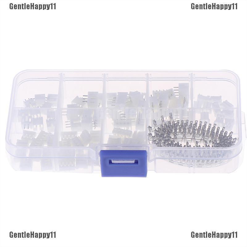 230pcs PH2.0 2p 3p 4 pin 2.0mm pitch terminal kit pin header JST connec ^P