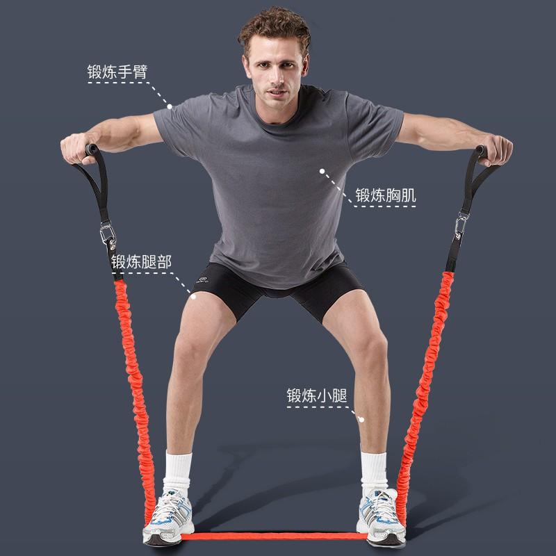 ▥ecobody เชือกยางยืดฟิตเนสดึงเชือกหญิงอุปกรณ์ออกกำลังกายแขนบางบ้านผู้ชายการฝึกความแข็งแรงของกีฬา l การฝึกอบรม